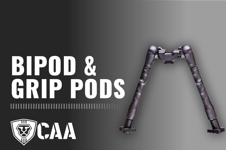 Bipods and Pod Grips