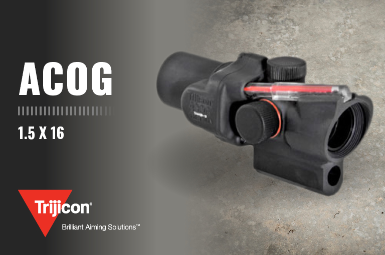 Trijicon 1.5 x 16 ACOG Optical Gunsight