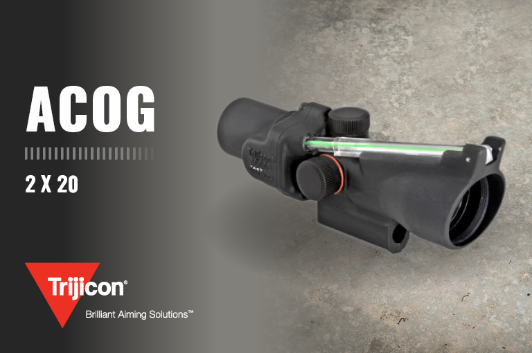 Trijicon 2 X 20 ACOG Optical Gunsight