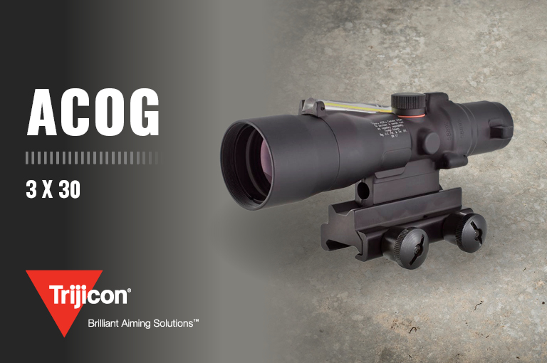Trijicon 3 X 30 ACOG Optical Gunsight
