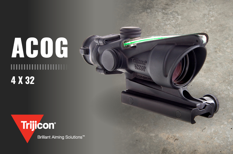Trijicon 4 x 32 ACOG Optical Gunsight