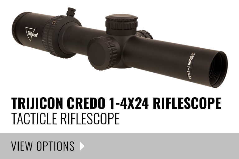 TRIJICON Credo 1-4x24 Riflescope