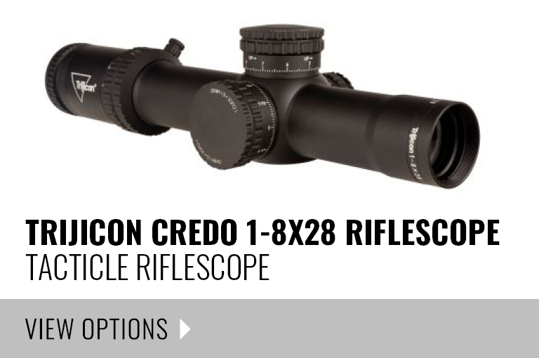 TRIJICON Credo 1-8x28 Riflescope